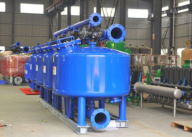 Big Tank Automatic Water Filter 1 - 16 Bar Working Pressure ISO9001 Approval